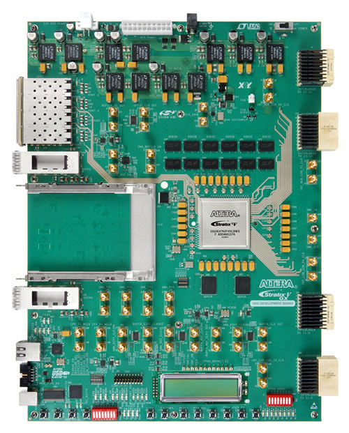 Altera 100G Development Kit, Stratix V GX Edition