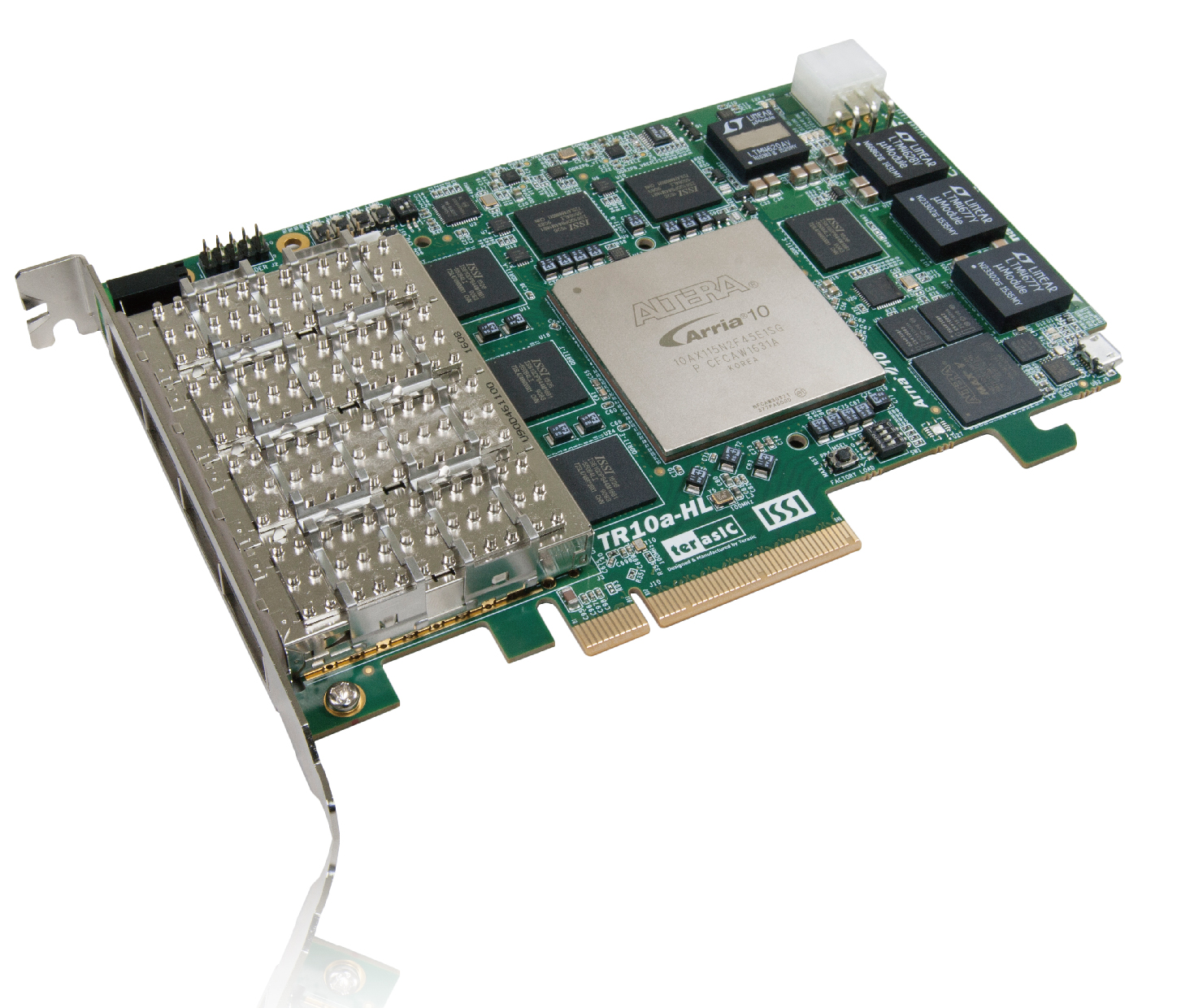 TR10a-HL Arria 10 FPGA Development Kit