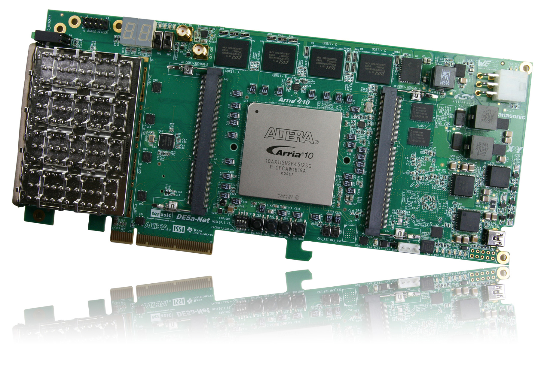DE5a-Net Arria 10 FPGA Development Kit